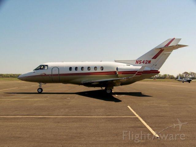 Raytheon Hawker 800 (N542M) - Hawker 850XP