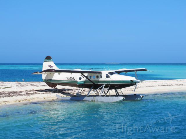 De Havilland Canada DHC-3 Otter (N435B) - Fort Jefferson on Garden Key in Dry Tortugas National Park 2/22/2013