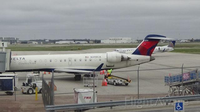 Canadair Regional Jet CRJ-700 (N398CA) - Date - March 17, 2020