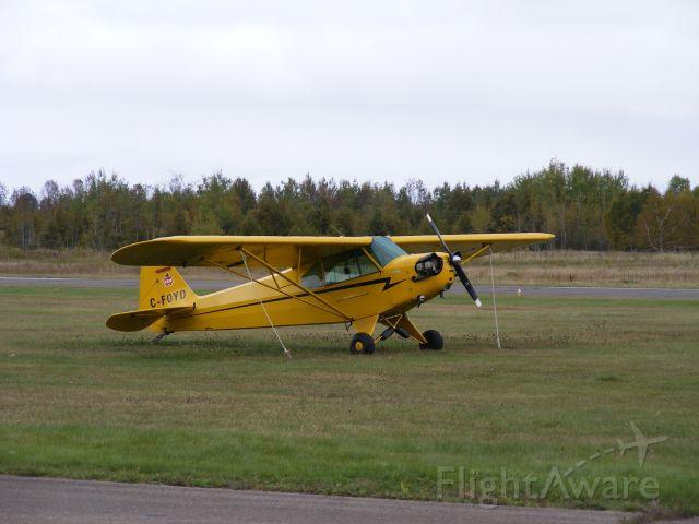 C-FOYD — - found tied down at Russ Beach airfield,Ontario,Canada