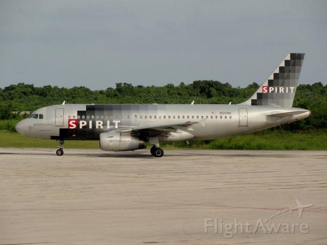 Airbus A319 (N510NK) - Spirit of Ft. Lauderdale