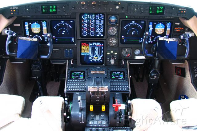 Gulfstream Aerospace Gulfstream IV — - G-IV SP cockpit.