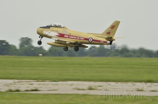 North American F-86 Sabre — - Canadian Warplane Heritage Airshow