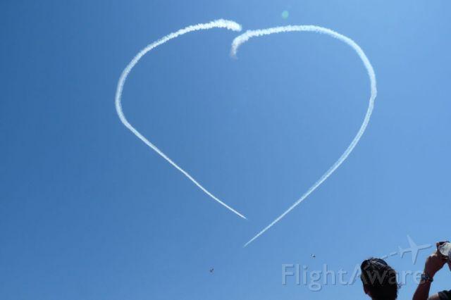 — — - At last Blue Angels Air Show