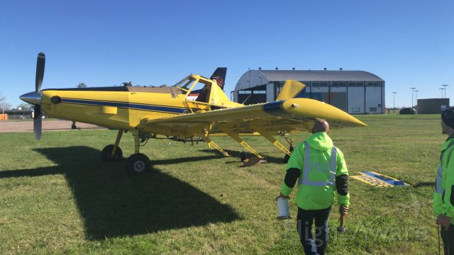 AIR TRACTOR AT-503 (N1516G) - Delivery flight to Rosario, Argentina.