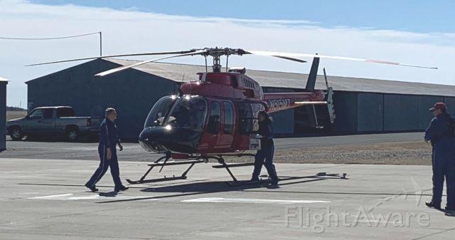 Bell 407 (N515MT) - 02/17/2020 Preparing for lifeguard flight