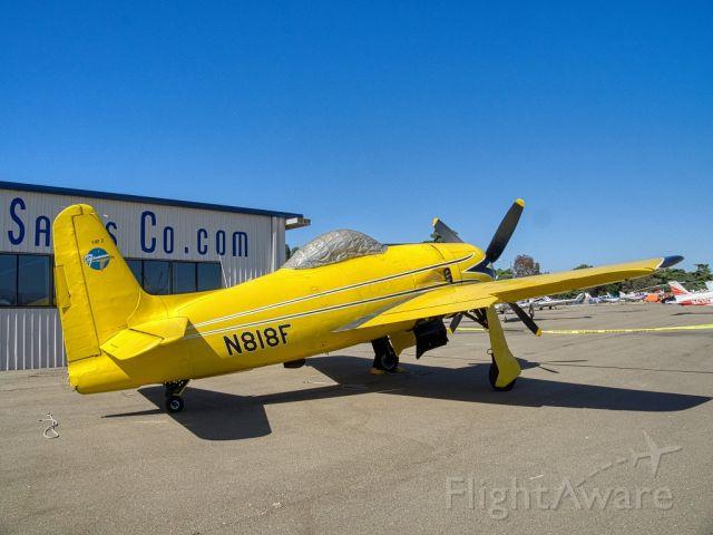 N818F — - Grumman F8F at Livermore Municipal Airport 06/2019 AOPA Flyin