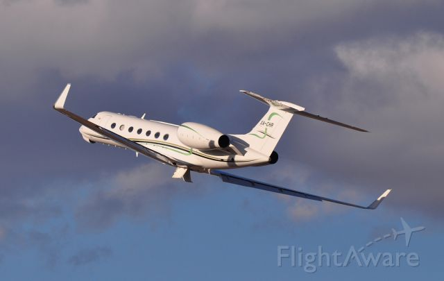 XA-CHR — - A G550 blasts off from HOU after clearing customs...