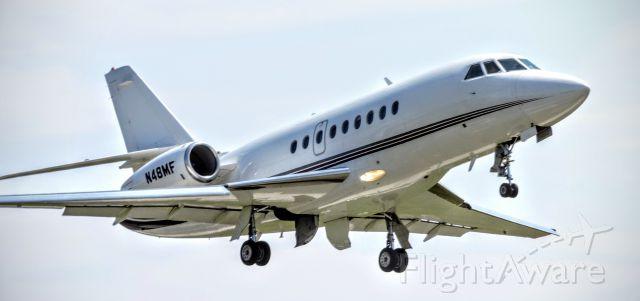 Dassault Falcon 2000 (N48MF) - Falcon 2000 Takeoff at PYM