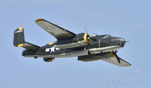 North American TB-25 Mitchell (N744CG) - Airventure 2017