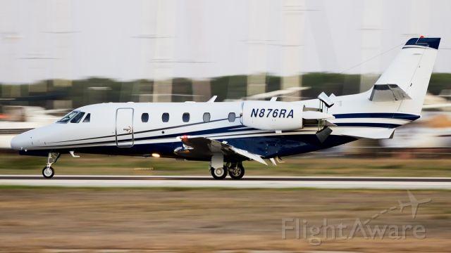 Cessna Citation V (N876RA) - Reverse deployed!