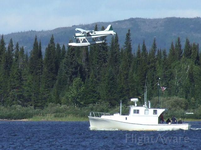 — — - on final at Terrington Basin Goose Bay, Labrador  23Aug09