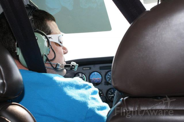 Piper Cherokee (N2492T) - 20 hours in at this point! Instructor Nick Taylor