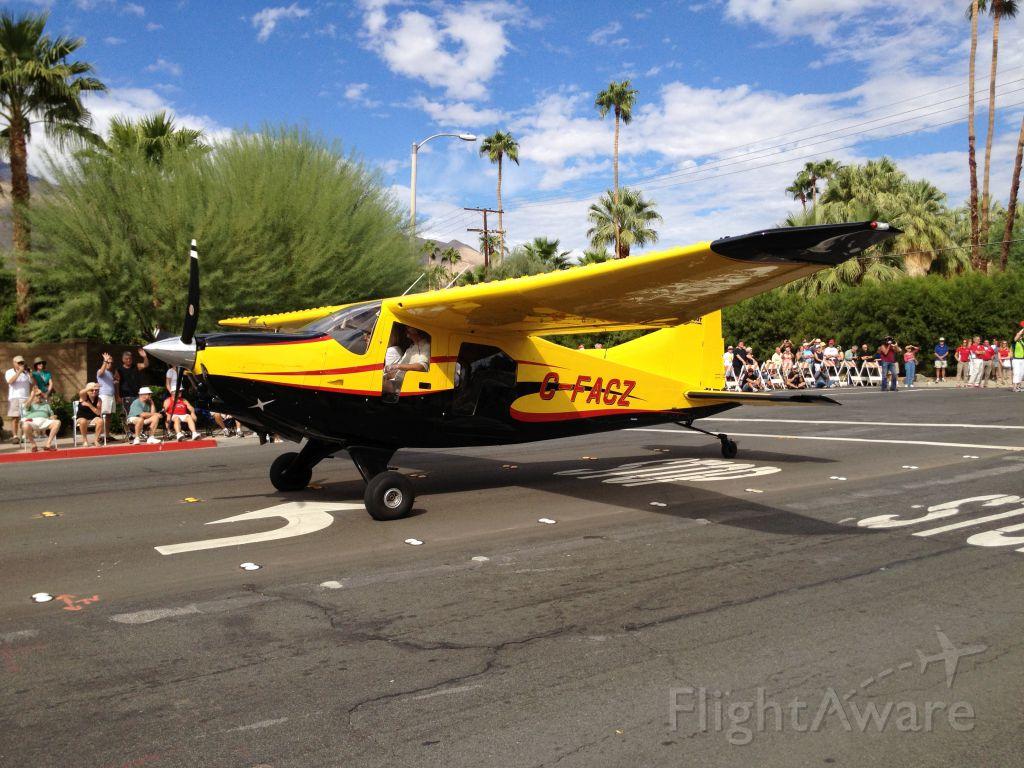 FOUND FBA-2 Bush Hawk (C-FACZ) - AOPA Parade of Planes - Palm Springs