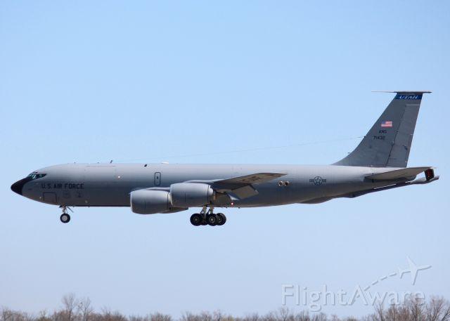 Boeing C-135FR Stratotanker (57-1432) - At Barksdale Air Force Base. 1957 Boeing KC-135R Stratotanker