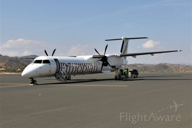 de Havilland Dash 8-100 (ET-AVR) - 18-11-2019