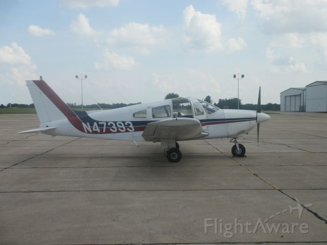 Piper Cherokee Arrow (N47393) - Photo was taken on June 21,2014 at Joplin(MO) Regional Airport.