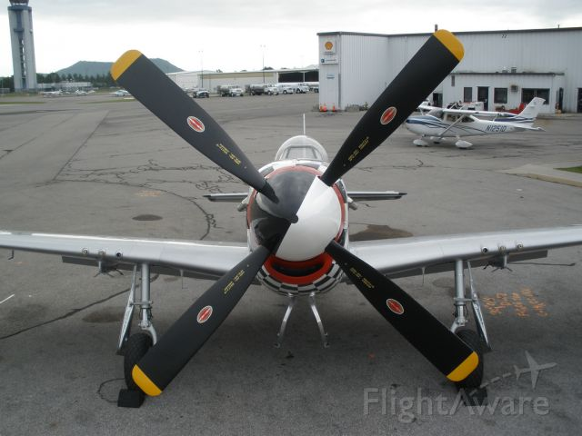 North American P-51 Mustang (N20TF) - Horsemen P-51 demo plane