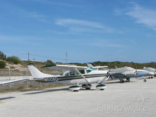 Cessna 206 Stationair (N5108Q) - Ramp at MYEM