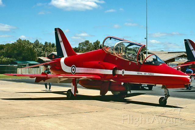 XX308 — - UK - AIR FORCE - BRITISH AEROSPACE HAWK T1A - REG : XX308 (CN 143/312133) - EDINBURGH RAAF BASE ADELAIDE SA. AUSTRALIA - YPED 27/1/1996