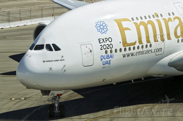 Airbus A380-800 (A6-EOL) - 2nd Oct., 2015