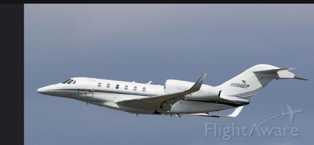 Cessna Citation X (N886EP)