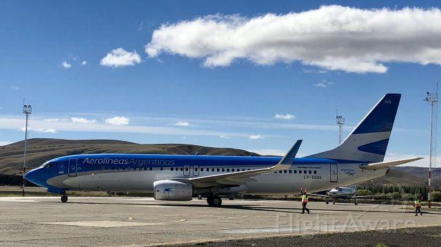 Boeing 737-700 (LV-GGQ) - Regular flight AR1615 SAZY-SABE