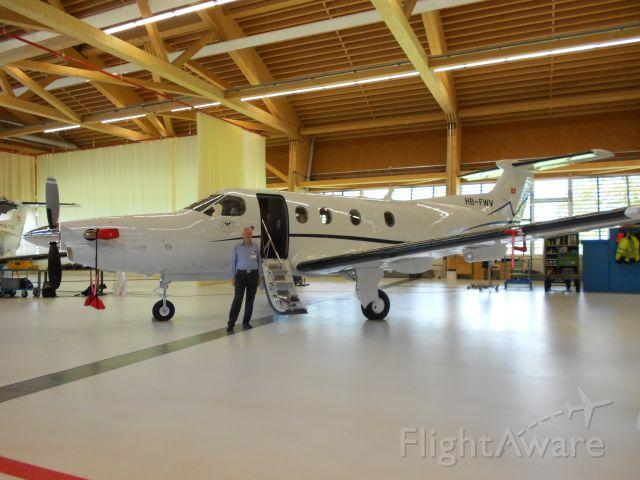 — — - Pilatus PC-12 pronto alla consegna