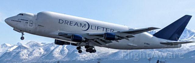 Boeing Dreamlifter (N718BA) - West side of N-S runway