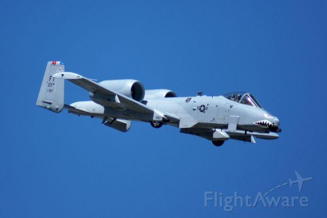 Fairchild-Republic Thunderbolt 2 — - A10 demo at the 2011 TICO Warbird Airahow. Like my photos? Follow me on Twitter: @nsandin88