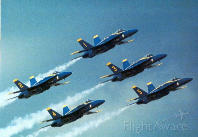 McDonnell Douglas FA-18 Hornet — - The Blue Angels