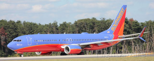 Boeing 737-800 (N8301J) - Flight 3247<br />KBWI to KHOU<br />(Warrior One) 9/11/15