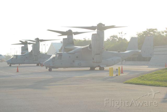 Bell V-22 Osprey — - On the flightline