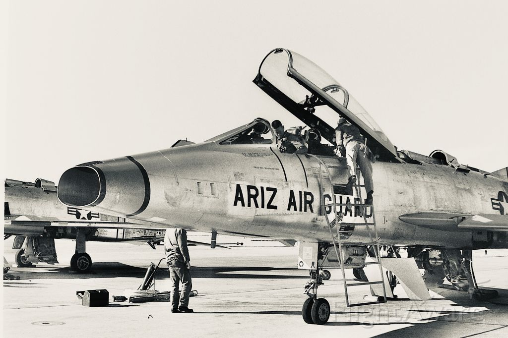 — — - I was an ANG aircraft mechanic in about 1960 working on these Guard airplanes.
