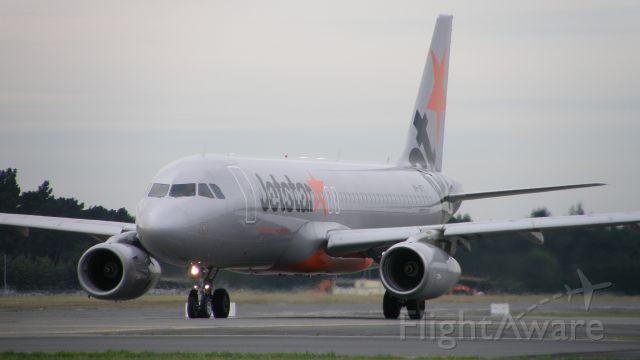 Airbus A320 (VH-VFT)