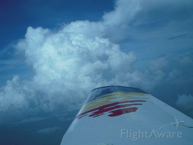 Piper Cherokee (N8461U) - In the clouds
