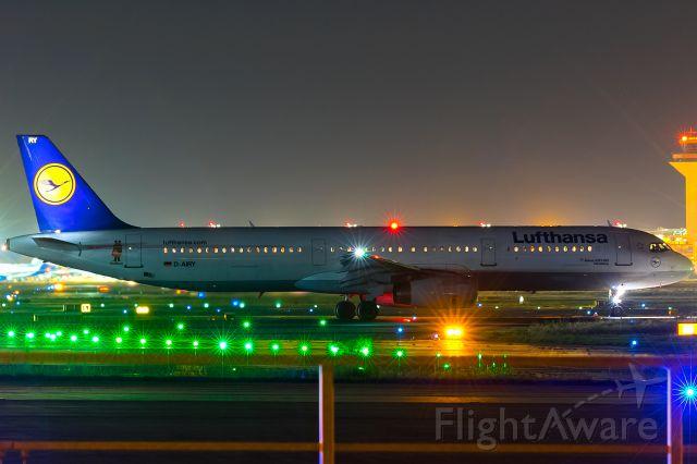 Airbus A321 (D-AIRY) - die MAUS