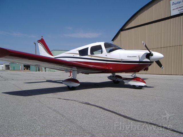 Piper Cherokee (N9476J) - 1966 Piper Cherokee 180, fresh out of the paint shop.