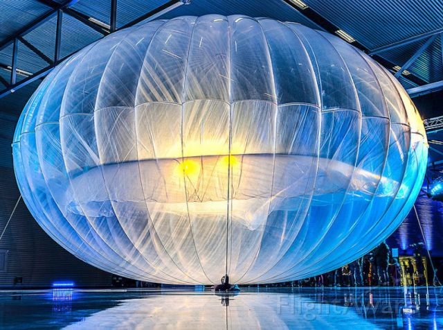 Unknown/Generic Balloon — - Project Loon balloon
