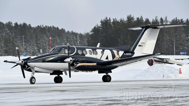 Beechcraft Super King Air 200 (C-GCVS) - C-GCVS