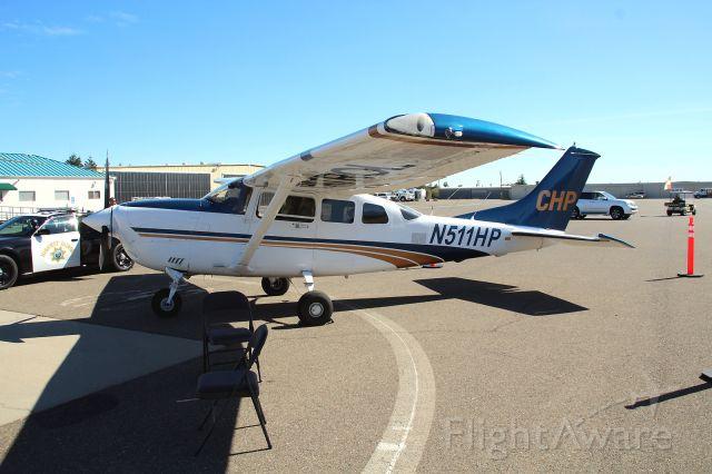 "Piper Dakota / Pathfinder (N511HP) - KO85 - Benton Field, Redding Oct 1 2017 California Highway Patrol ""Air 11"" Cessna 206 Stationaire at the Benton Field Airshow. Serial T20608251 LYCOMING TI0-540 SER (Reciprocating) Horsepower: 310"