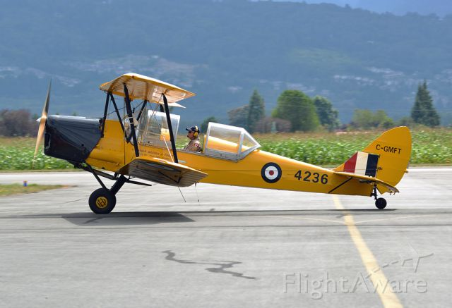 C-GMFT — - Own and operated by Canadian Museum of Flight, Langley, BC