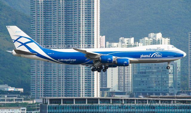 BOEING 747-8 (VQ-BRJ)