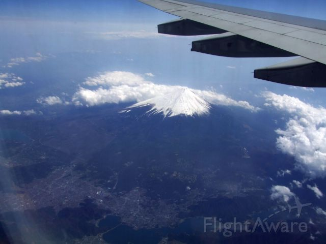 — — - I was on tour with the Philadelphia Orchestra a few years ago, obviously passing Mt. Fuji,  and don