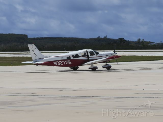 """Piper Saratoga/Lance (N32728) - """"air condition"""" on. 25 May 2016."""