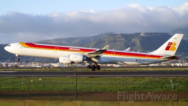 Airbus A340-600 (EC-JPU) - Volviendo al pasado
