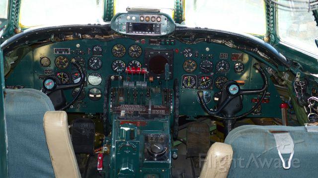 N6937C — - Cockpit of Constellation.