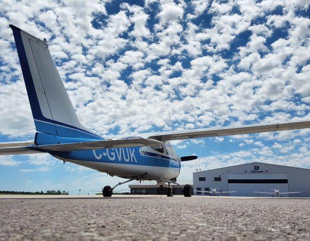 Cessna Cardinal (C-GVUK) - Cessna 177 with popcorn clouds