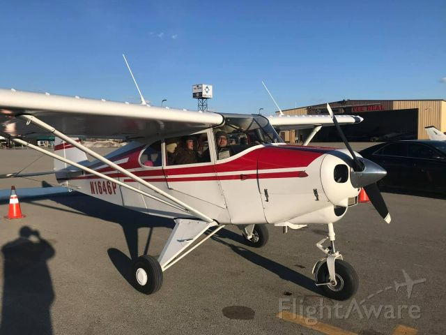 Piper PA-22 Tri-Pacer (N1646P) - Brought the airplane home 2/25/2021 to LBE