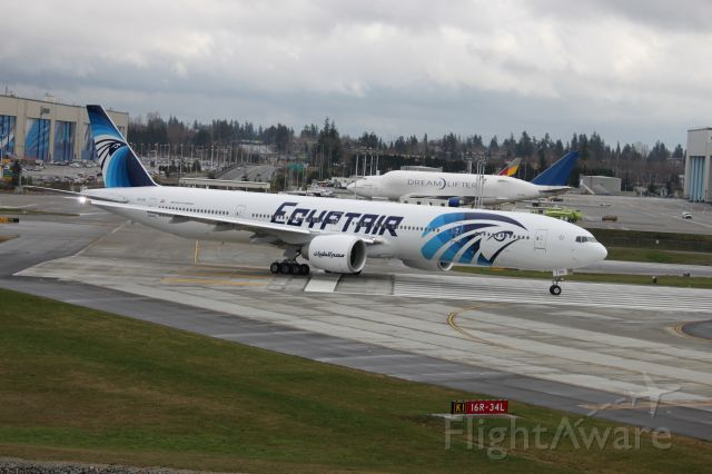 SU-GDL — - First Flight of this Airplane from Paine Field in Everett